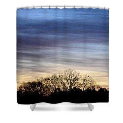 February 1 Dawn 2013 II Shower Curtain by Maria Urso