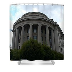 Federal Trade Commission Shower Curtain by Lingfai Leung