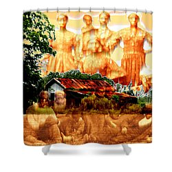 Feels Like Home Shower Curtain by Seth Weaver