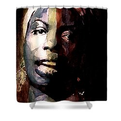 Felling Good  Shower Curtain by Paul Lovering