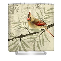 Female Symphony Shower Curtain by Lourry Legarde