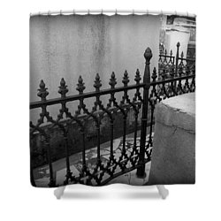 Fenced In Shower Curtain by Beth Vincent