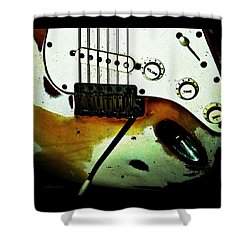 Fender Detail  Shower Curtain by Chris Berry