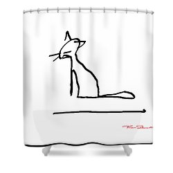 Fg 4 Shower Curtain by Theo Danella