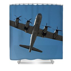 Fifi Overhead Shower Curtain by John Daly