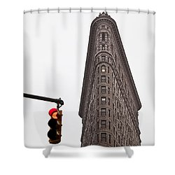Flatiron Shower Curtain by Dave Bowman