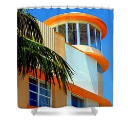 Flavour Of Miami Shower Curtain by Karen Wiles