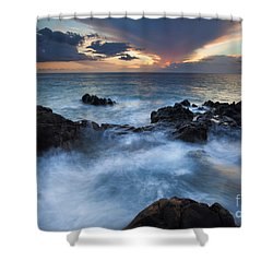 Flooded Shower Curtain by Mike  Dawson