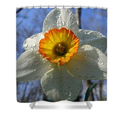 Floral Dew  Shower Curtain by Neal  Eslinger