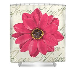 Floral Inspiration 3 Shower Curtain by Debbie DeWitt