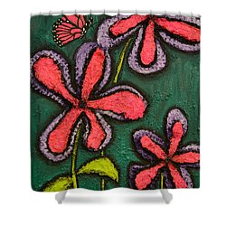 Flowers 4 Sydney Shower Curtain by Shawn Marlow