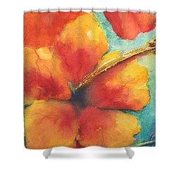 Flowers In Bloom Shower Curtain by Chrisann Ellis