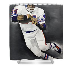 Floyd Little Shower Curtain by Don Medina