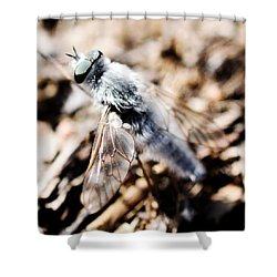 Fly Shower Curtain by Toppart Sweden
