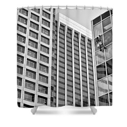 Flying Solo Shower Curtain by Trever Miller