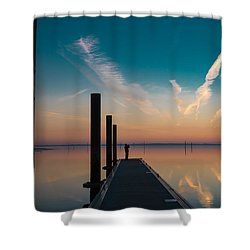 Shower Curtain featuring the photograph Follow Me by Thierry Bouriat