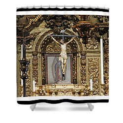 For Our Sins Shower Curtain by Shoal Hollingsworth