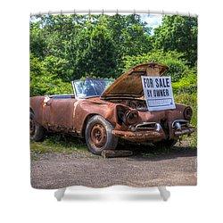 For Sale By Owner Shower Curtain by Rick Kuperberg Sr