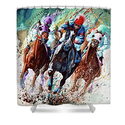 For The Roses Shower Curtain by Hanne Lore Koehler