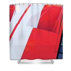 Ford Gt40 Sports Car Shower Curtain by Jill Reger
