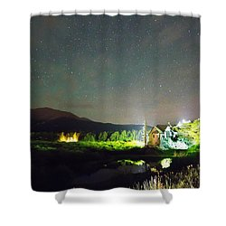 Forest Of Stars Above The Chapel On The Rock Shower Curtain by James BO  Insogna