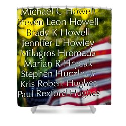 Forever Remembered Shower Curtain by Tom Gari Gallery-Three-Photography
