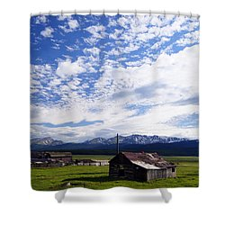 Forever Sky Shower Curtain by Jeremy Rhoades