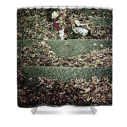 Forgotten Doll Shower Curtain by Joana Kruse