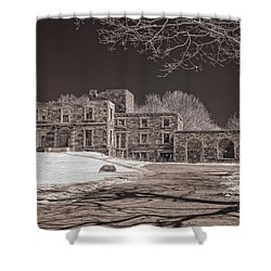 Forgotten Fort Williams Shower Curtain by Joann Vitali