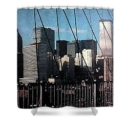Forgotten View Shower Curtain by George Pedro