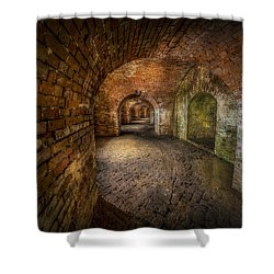 Fort Macomb Shower Curtain by David Morefield