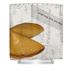 Fortune 1 Shower Curtain by Cheryl Young