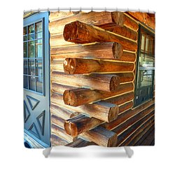 Foursquare Shower Curtain by Lauren Leigh Hunter Fine Art Photography