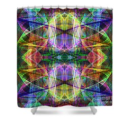 Fourth Dimension Ap130511-22-2b Shower Curtain by Wingsdomain Art and Photography