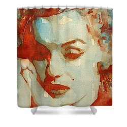 Fragile Shower Curtain by Paul Lovering