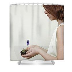 Fragile Spring Shower Curtain by Joana Kruse