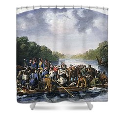 Francis Marion (c1732-1795) Shower Curtain by Granger