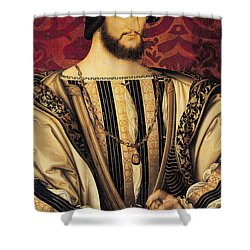 Francois I Shower Curtain by Jean Clouet