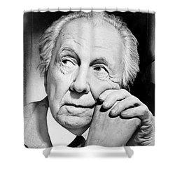 Frank Lloyd Wright Shower Curtain by Granger