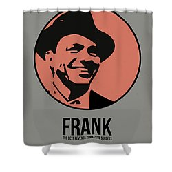Frank Poster 1 Shower Curtain by Naxart Studio