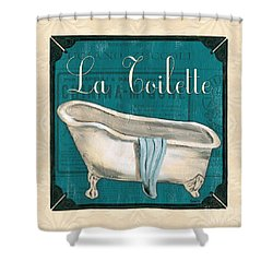 French Bath Shower Curtain by Debbie DeWitt