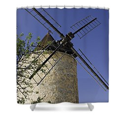 French Moulin Shower Curtain by Bob Phillips