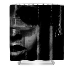 Frightened By Those Who Dont See It Shower Curtain by Jessica Shelton