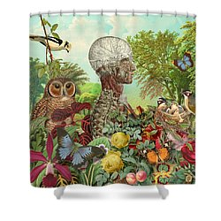 From The Garden Shower Curtain by Gary Grayson