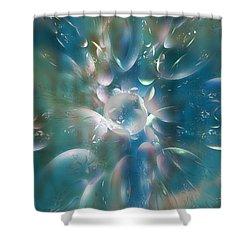 Frostwork Shower Curtain by Klara Acel