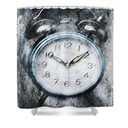 Frozen In Time Shower Curtain by Skip Nall