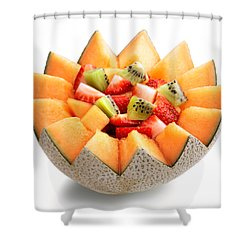 Fruit Salad Shower Curtain by Johan Swanepoel