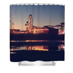 Fun And Games Shower Curtain by Laurie Search