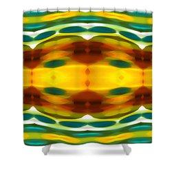 Fury Pattern 5 Shower Curtain by Amy Vangsgard