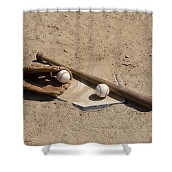 Game Time Shower Curtain by Bill Cannon